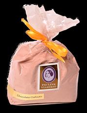 Chocolate clafotís bath milk