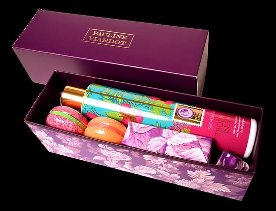 Tropical island gift set