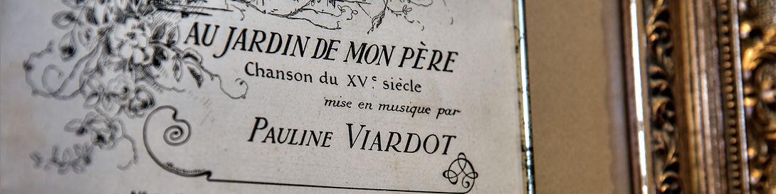 Pauline Viardot Chanson