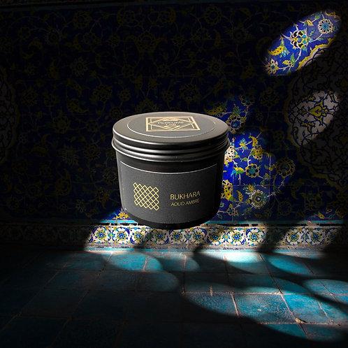 Свеча BUKHARA AOUD AMBRE в металле