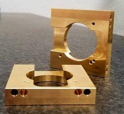 360 brass  custom prototype parts