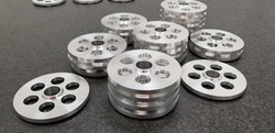 DMAC utilized 6061 aluminum and multi-operational cnc turning and cnc milling to complete this order
