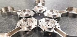 Titanium 5-axis  Precision Prototype Machining