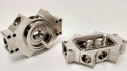 Precision Prototype Parts milled from Titanium using 5 Axis Machining