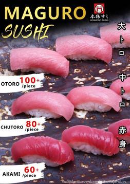 Maguro Sushi 10g.