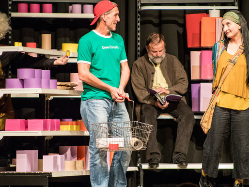 Premiere: Theater dacapo mit neuem Stück aus dem Supermarkt