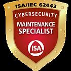 ISA/IEC 62443 Cybersecurity Maintenance Specialist Certification