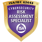 ISA/IEC 62443 Cybersecurity Risk Assessment Specialist Certification