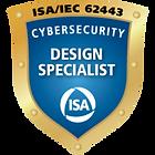 ISA/IEC 62443 Cybersecurity Design Specialist Certification