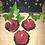 Thumbnail: 3 x Rose tea light candles, Chakra set, Gift idea