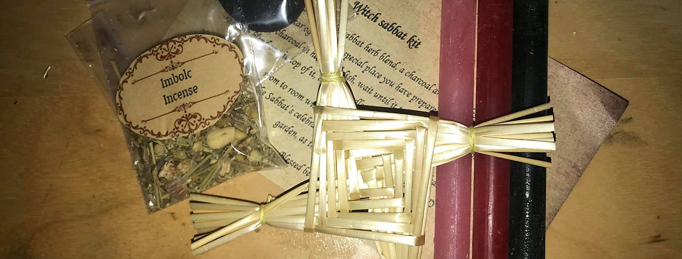 Witch Sabbat Incense celebration and ritual kit