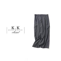 WIDE LEG PANTS@K.K closet