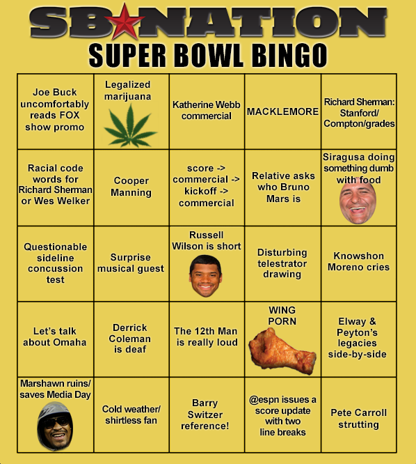 Super Bowl Party Planning!