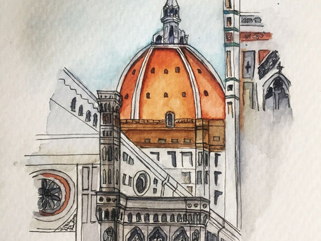 Architecture Sketching