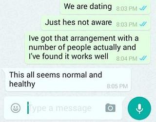 Monday 1st February 2016 - Dating