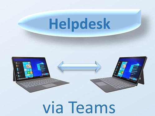 Help Desk via Teams