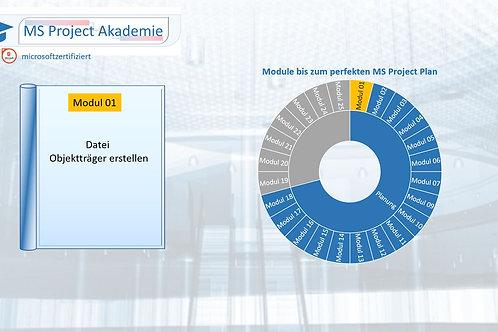 Schritt 01 zum perfekten MS Project Plan