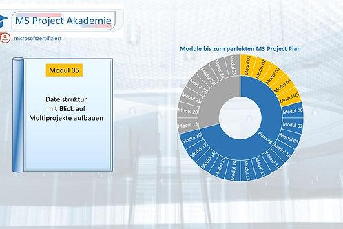 Schritt 05 zum perfekten MS Project Plan