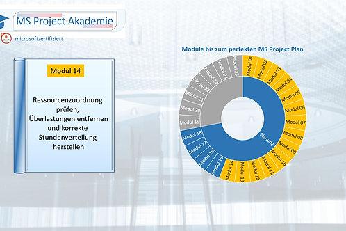 Schritt 14 zum perfekten MS Project Plan