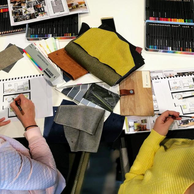 Workshop kleur en inspiratie