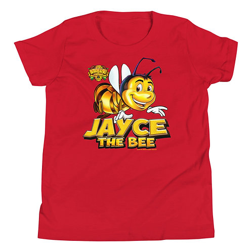 Jayce The Bee Youth Short Sleeve T-Shirt