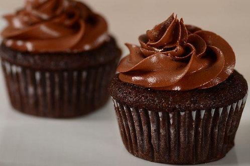 6 ($3.25 each) Vegan/Gluten Free Chocolate Cupcakes
