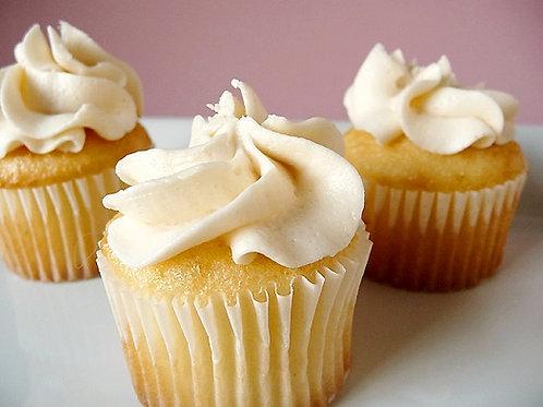12 ($1.50 each) Vegan/Gluten Free Vanilla Cupcakes