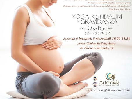 Corso di yoga per donne in gravidanza