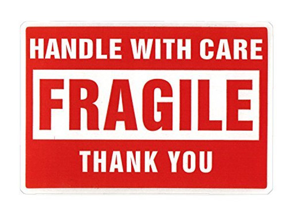fragile stickers shipping labels
