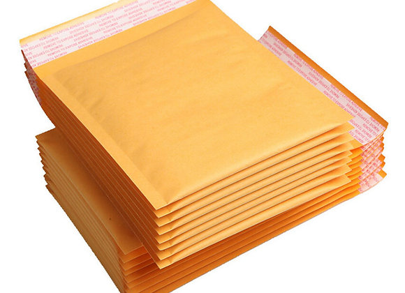 Kraft Bubble Mailers - Padded Envelopes