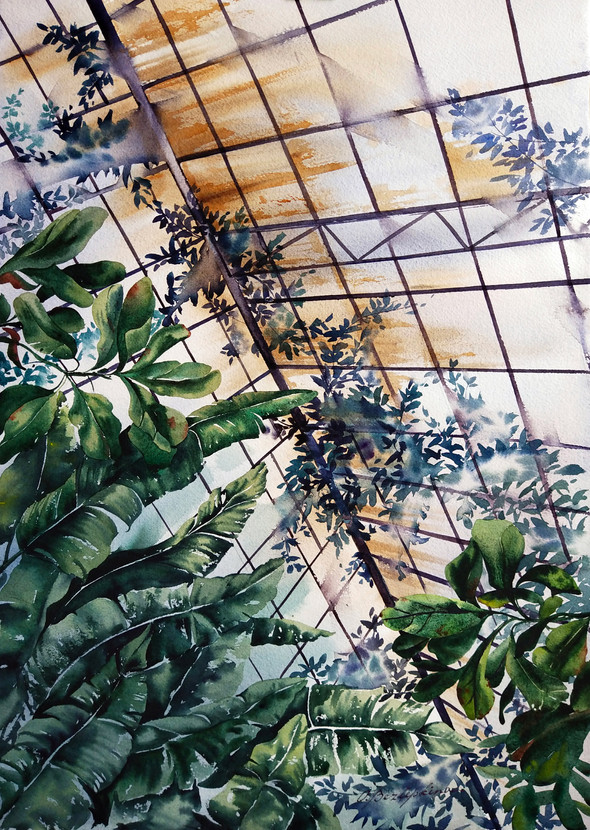 Skies Web | Watercolor