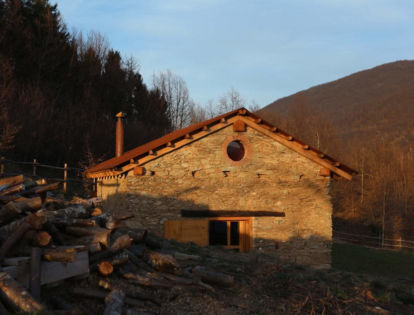La ex chiesetta della borgata a Selucente
