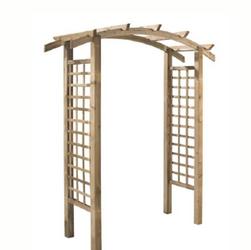 Arco em madeira natural