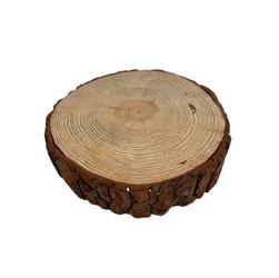 Base para bolo em madeira