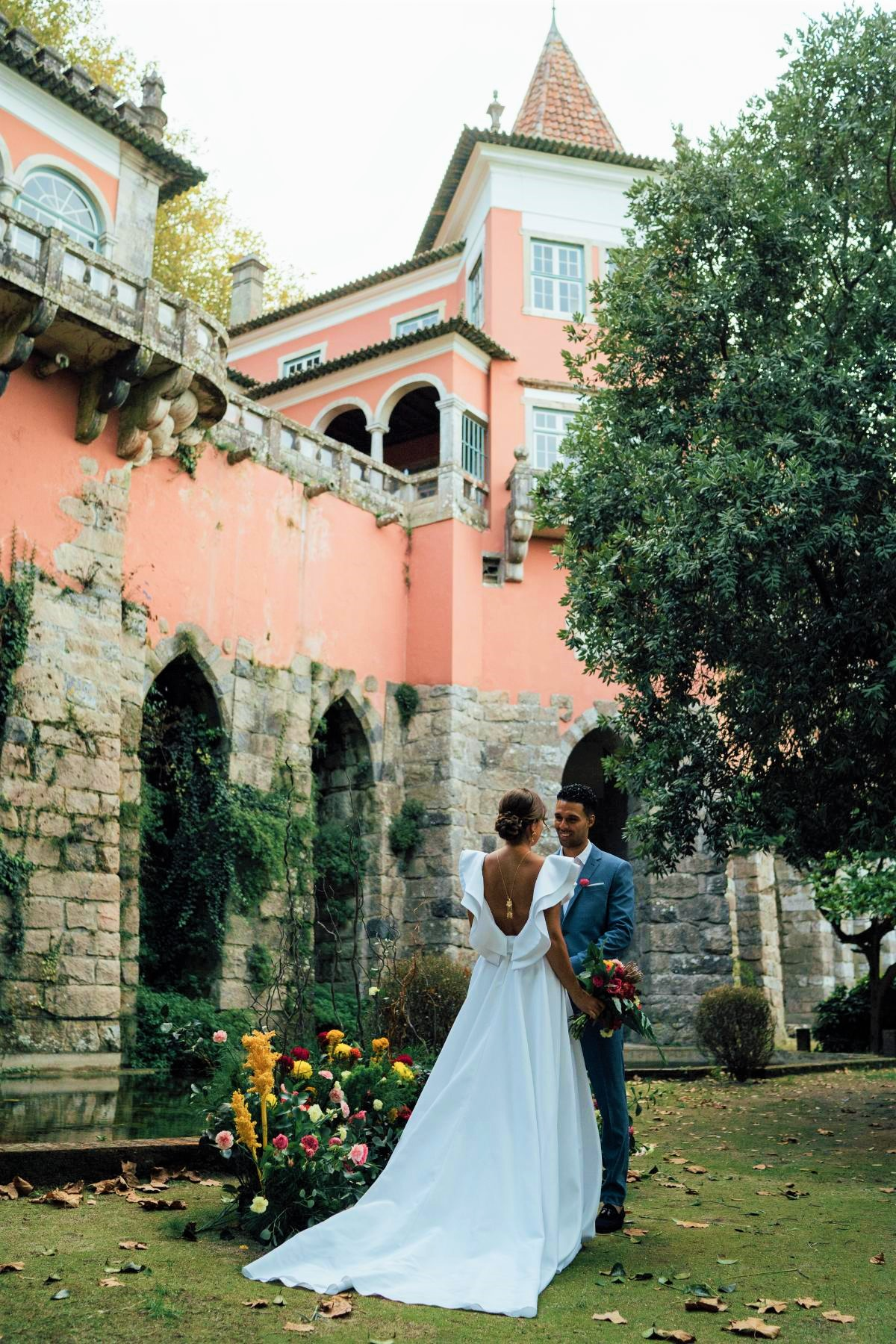 A magia de Sintra, num mini wedding europeu