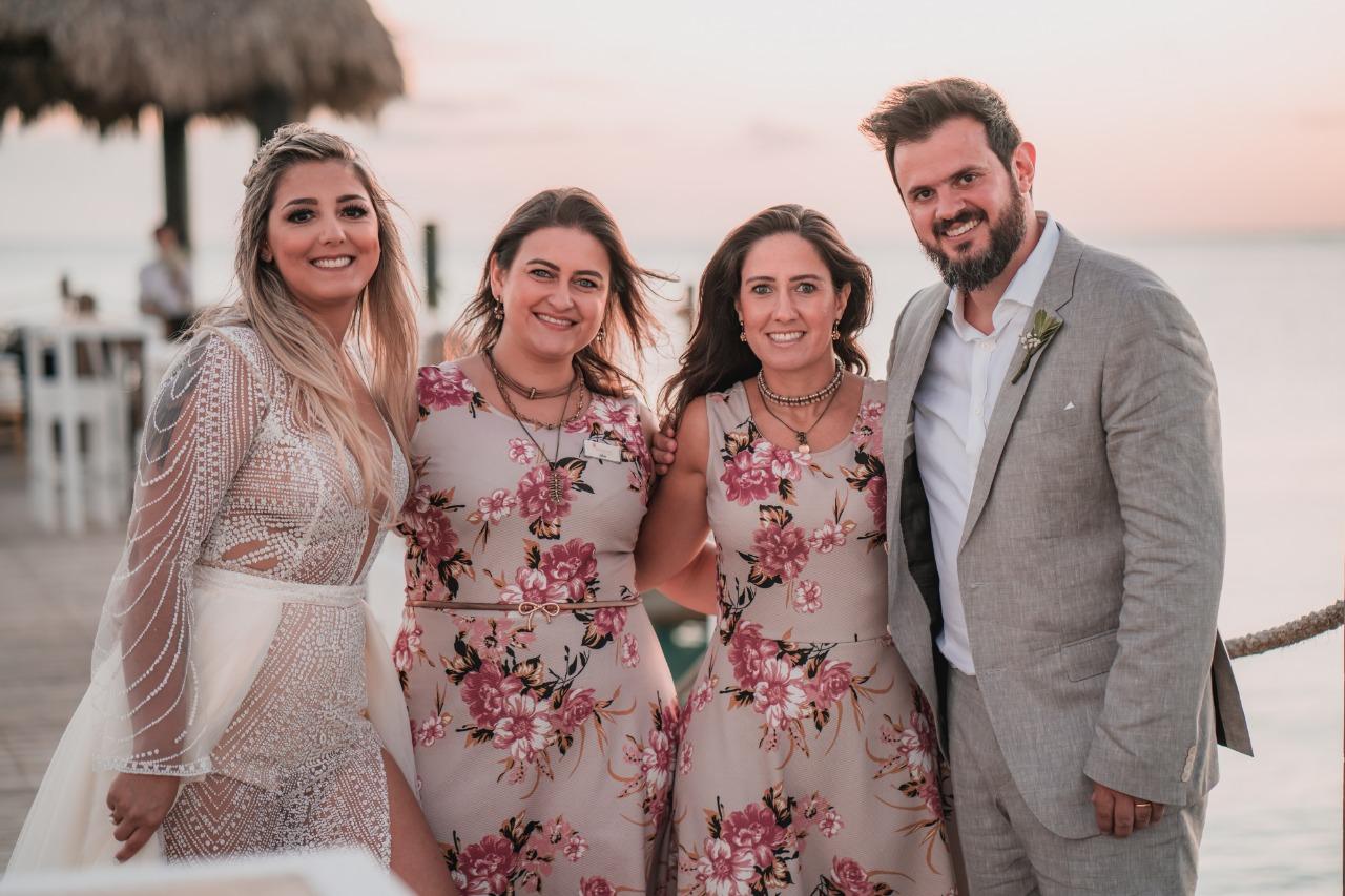 Noivos queridos! E foi um Destination Wedding maravilhoso em Punta Cana