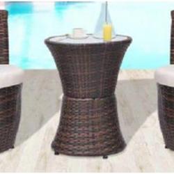Lounge ratan castanho