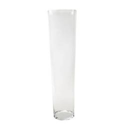 Vaso de vidro cónico