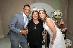 Casamento da Beatriz e Serrano em casa