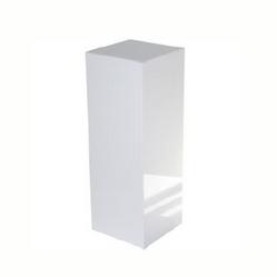 Colunas decorativas brancas