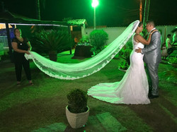 Casamento de Janaina e Roger no Espaço casa da praia