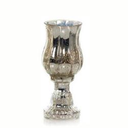 Taça de vidro mercurizado