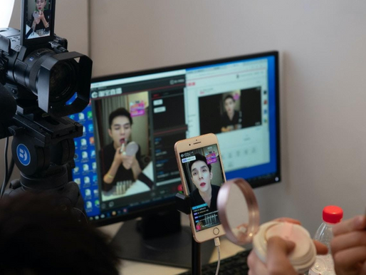 2020 is the era of Chinese influencer e-commerce live streaming