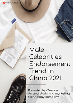Male Celebrities Endorsement Trend in Ch