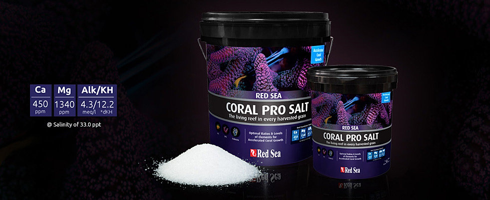 red sea coral pro salt инструкция