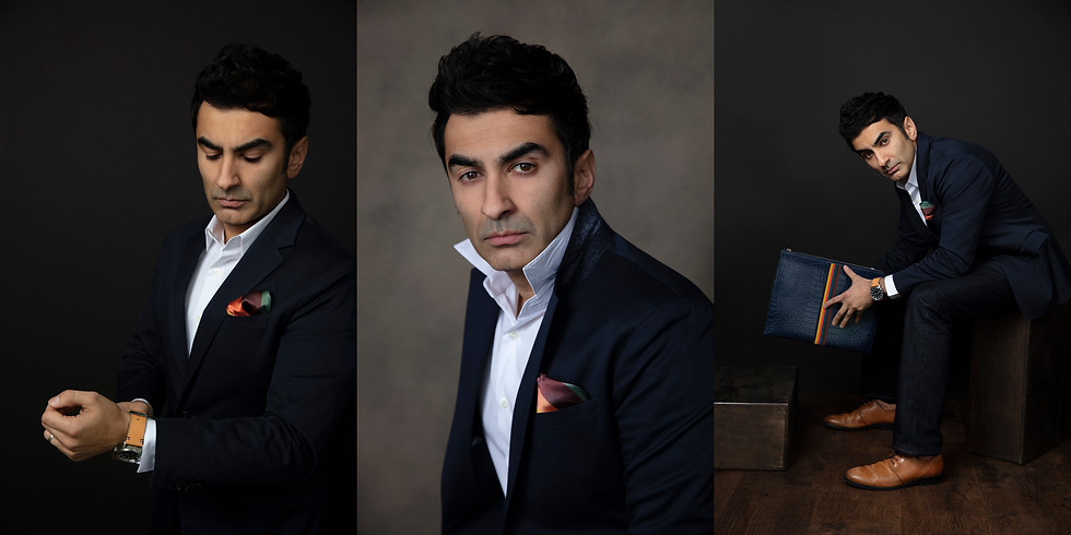 Exclusive Headshot Event for Men with Celebrity Stylist Magdy K.