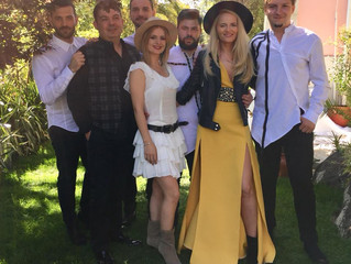 Garden party at the Romanian Embassy in Portugal!