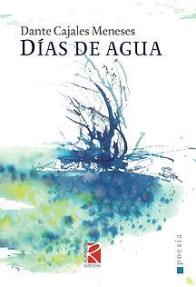Días de agua, poesía de Dante Cajales Meneses, prólogo de Clemente Riedemann