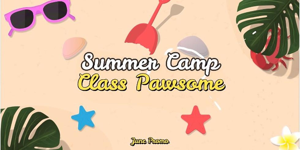 Summer Camp Class Pawsome