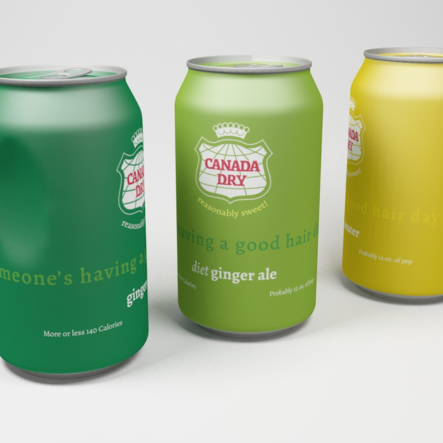 Canada dry render